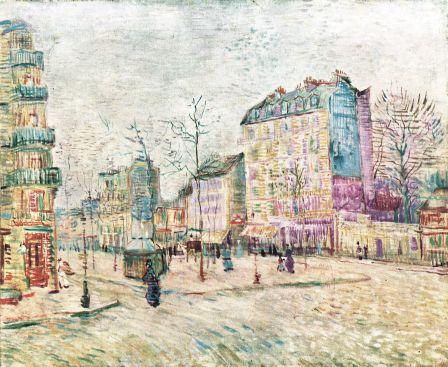 Boulevard de Clichy - Vincent van Gogh (1887)