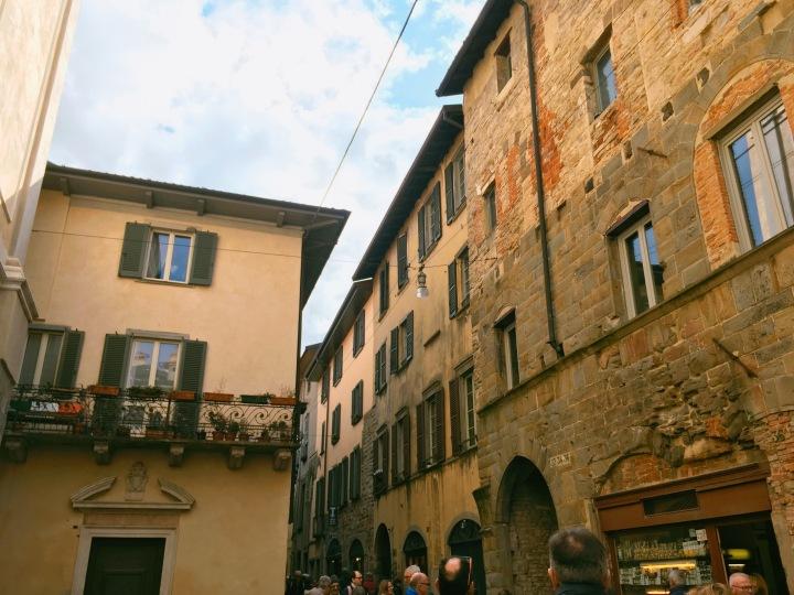 Bergamo's Città Alta,Italy